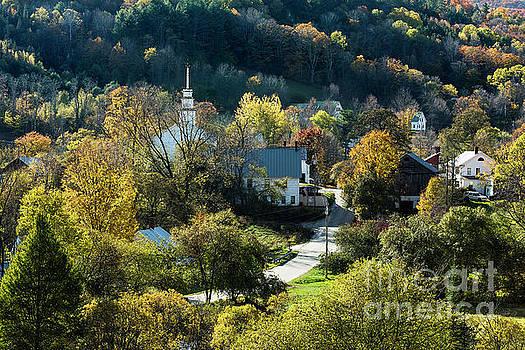 Topsham Village Vermont by John Greim