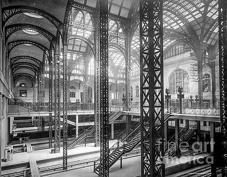 Track level and concourses Pennsylvania Station New York by Russ Brown