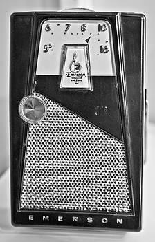 Transistor Radio Blown Up by Matthew Bamberg