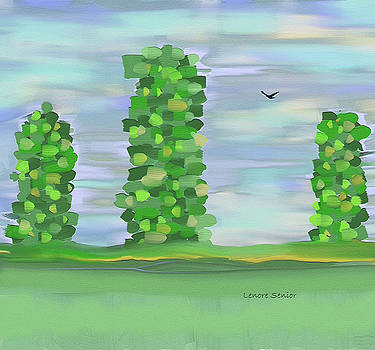 Trees in Spring by Lenore Senior