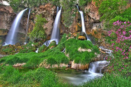 Triple Falls by Scott Mahon