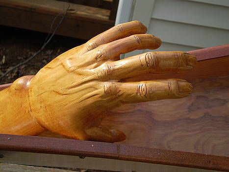 Truth - hand detail by G Peter Richards