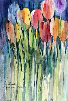 Tulips by Natalia Eremeyeva Duarte