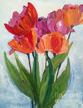 Tulips  by Sherry Harradence