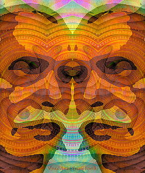 Two-Faced by Visual Artist  Frank Bonilla