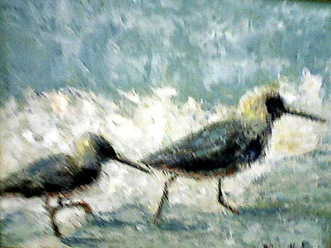 Two on the Beach by Marie Hamby