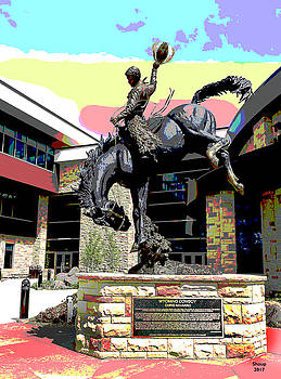 University of Wyoming by Charles Shoup