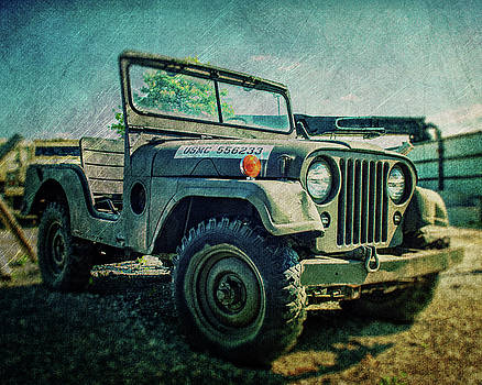 USMC Jeep in Color cropped by Emily Kay