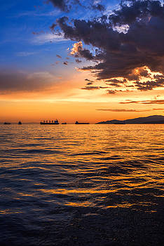 Vancouver Sunset by Alex Land