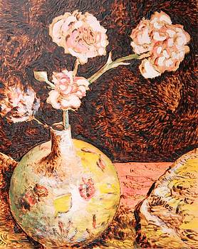 Vase with Flowers by Richard Jules