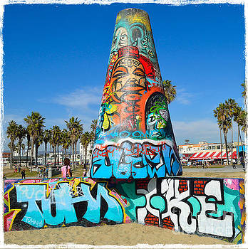 Venice Beach Graffiti by Scott Parker