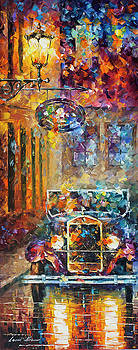 Vintage Car Collection piece 13 by Leonid Afremov