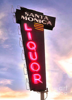 Gregory Dyer - Vintage Liquor Sign
