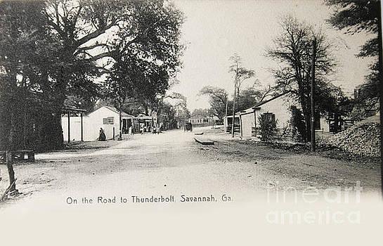 Patricia Hofmeester - Vintage postcard of 1905 of Savannah, Georgia USA