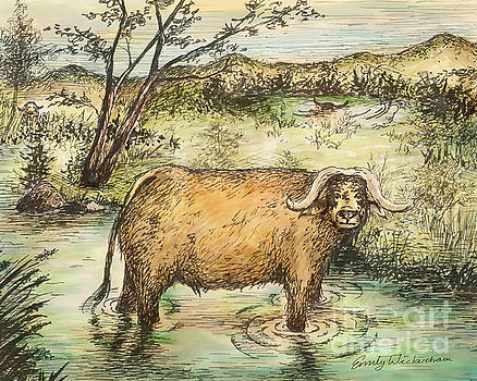 Water Buffalo by Emily Wickerham