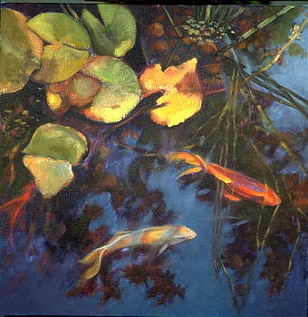 Water Garden Series-G by Patricia Reed