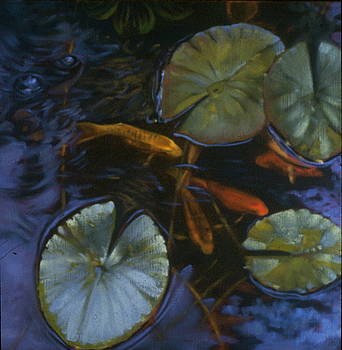 Water Garden Series-K by Patricia Reed