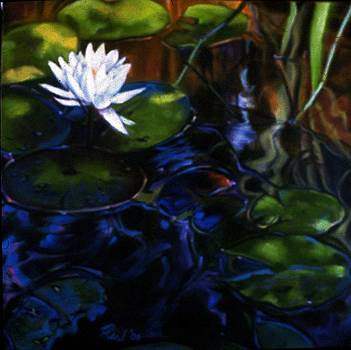 Water Garden Series-M by Patricia Reed