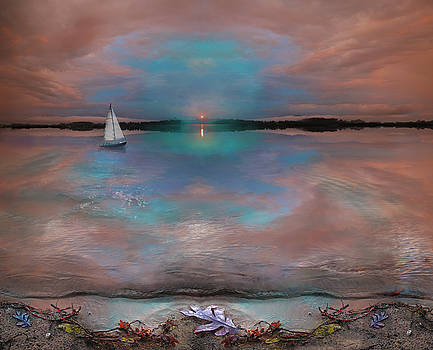 Waters edge by Gina Signore