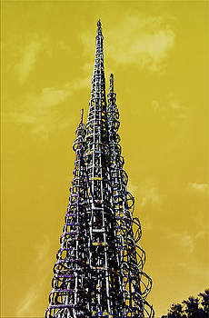 Watts Towers by Joseph Hollingsworth