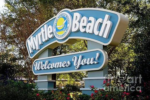 Welcome to Myrtle Beach by Bob Pardue