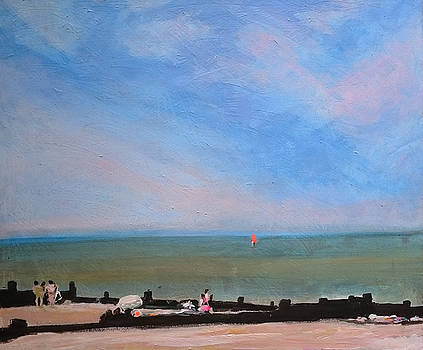 Whitstable Beach by Paul Mitchell