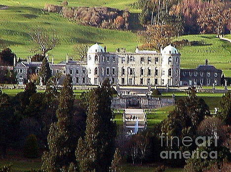 WICKLOW.. Powerscourt House, Enniskerry by Val Byrne