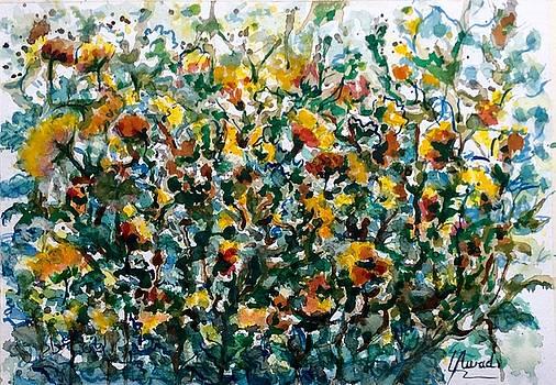 Wild flowers#3 by Laila Awad Jamaleldin