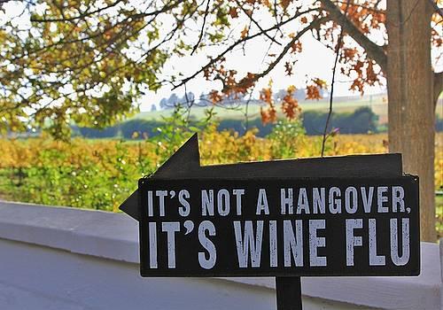 Wine Flu by Jennifer Ansier