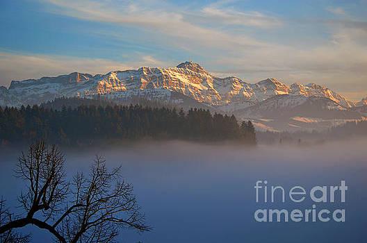 Susanne Van Hulst - Winter in Switzerland - The Santis Mountain