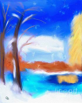 Winter Snow by Arlene Babad