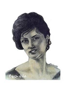 Woman - 2 by Adel Jarbou