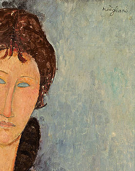 Amedeo Modigliani - Woman with Blue Eyes