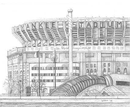 Yankee Stadium by Juliana Dube