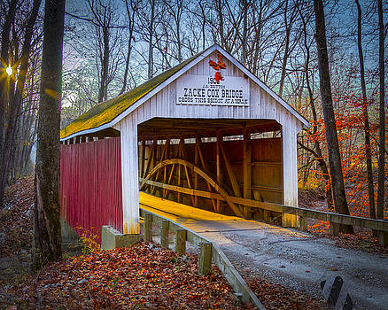 Jack R Perry - Zacke Cox covered bridge