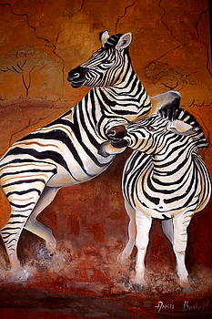 Zebra by Ansie Boshoff