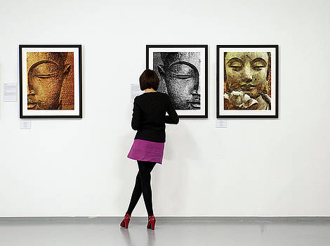 Sample Gallery Buddha by Sir Josef - Social Critic - ART