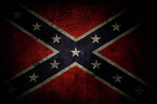 Confederate flag by Les Cunliffe