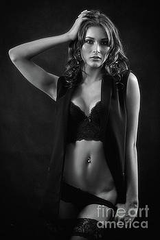 Woman In Lingerie by Aleksey Tugolukov