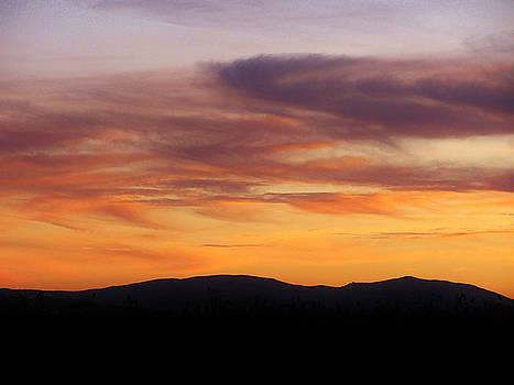 112915 Sunset by Carol Welsh