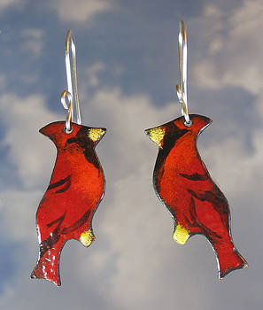 1253 Cardinal by Dianne Brooks