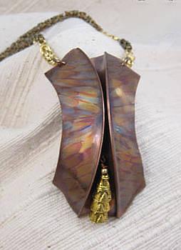 1344 Bali Bells Necklace by Dianne Brooks