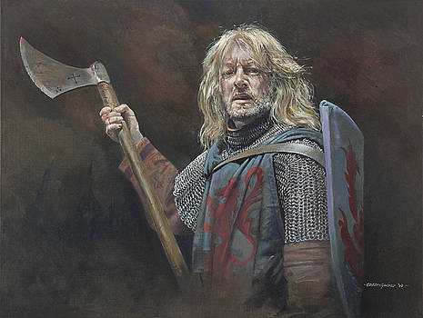 13th C. English Mercenary by Chris Collingwood