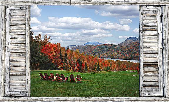 13th Lake North River NY by David Seguin