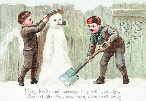 English School - Christmas Card