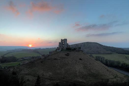 Corfe Castle - England by Joana Kruse