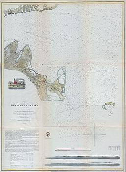 1859 Map of Martha's Vineyard1859 Map of Martha's Vineyard by Paul Fearn