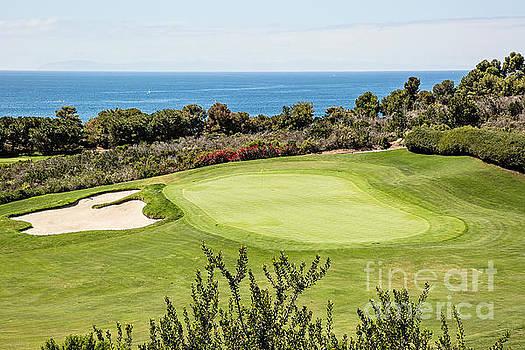 Scott Pellegrin - 18th Green Pelican Hill South Course