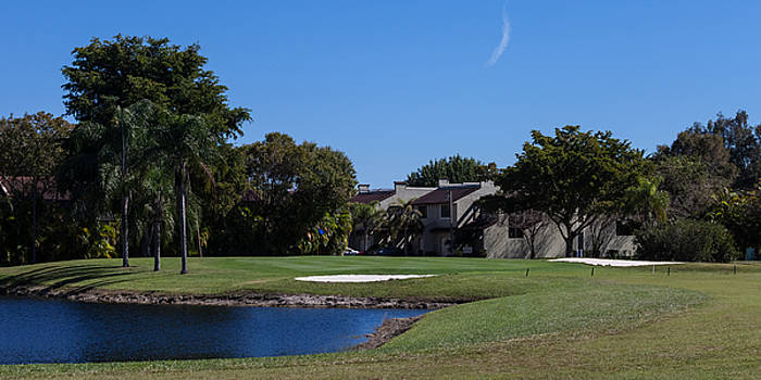 18th Hole at Costa Del Sol by Ed Gleichman