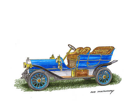 Jack Pumphrey - 1906 Lambert Touring model H